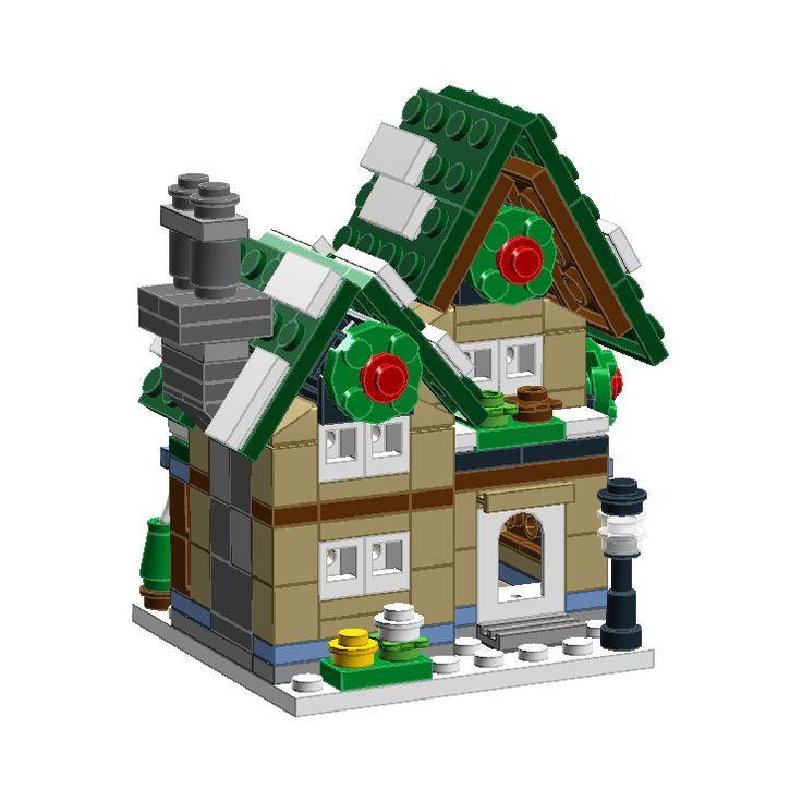 mini Winter Village Post Office (10222) : 네이버 블로그