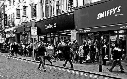 Bold Street Liverpool 2013