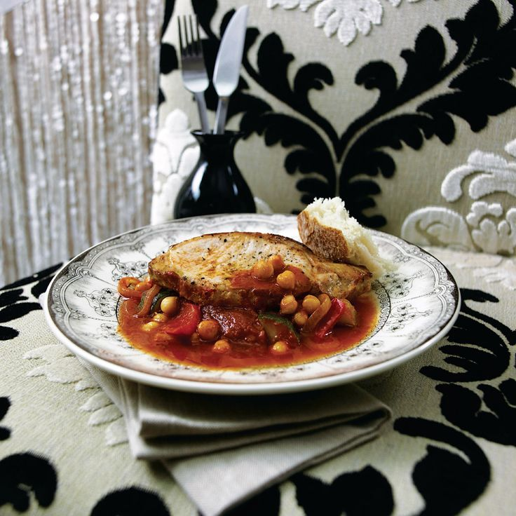 Recipe for paprika pork with peppers