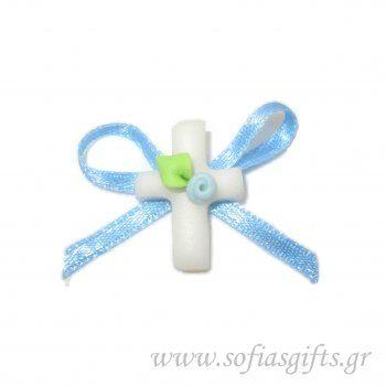 Μαρτυρικό για αγόρι . Χειροποίητα μαρτυρικά .Η κάθε συσκευασία περιέχει 50 τεμάχια με μαρτυρικά σε όμορφο στολισμένο κουτάκι. Το κάθε μαρτυρικό έχει στο πίσω μέρος καρφίτσα, για περισσότερες πληροφορίες επισκευτείτε την ιστοσελίδα μας ή επικοινωνείστε μαζί μας http://www.sofiasgifts.gr/products/%CF%87%CE%B5%CE%B9%CF%81%CE%BF%CF%80%CE%BF%CE%AF%CE%B7%CF%84%CE%BF-%CE%BC%CE%B1%CF%81%CF%84%CF%85%CF%81%CE%B9%CE%BA%CF%8C-%CE%B3%CE%B9%CE%B1-%CE%B1%CE%B3%CF%8C%CF%81%CE%B9-%CE%BD%CE%BF-2