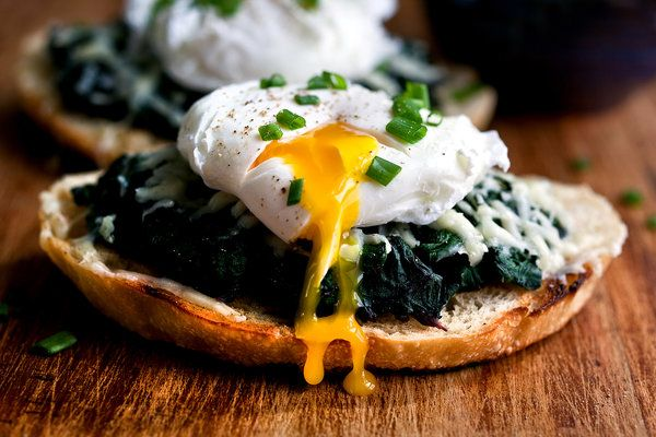 Beet Greens Bruschetta With Poached Egg and Fontina: Andrew Scrivani, Healthy Dinners, Beets Green, Dough Recipes, Food Photography, Dinners For One, Green Bruschetta, Healthy Recipes, Poached Eggs