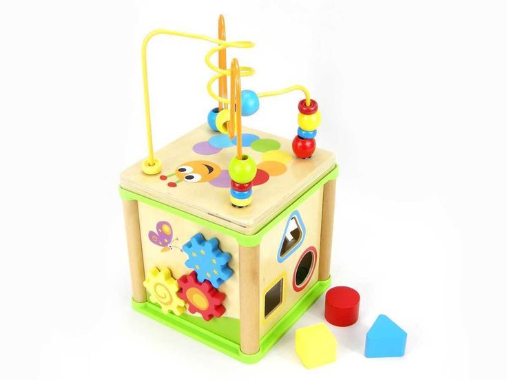 Wooden 5 in 1 Activity Cube | Entropy