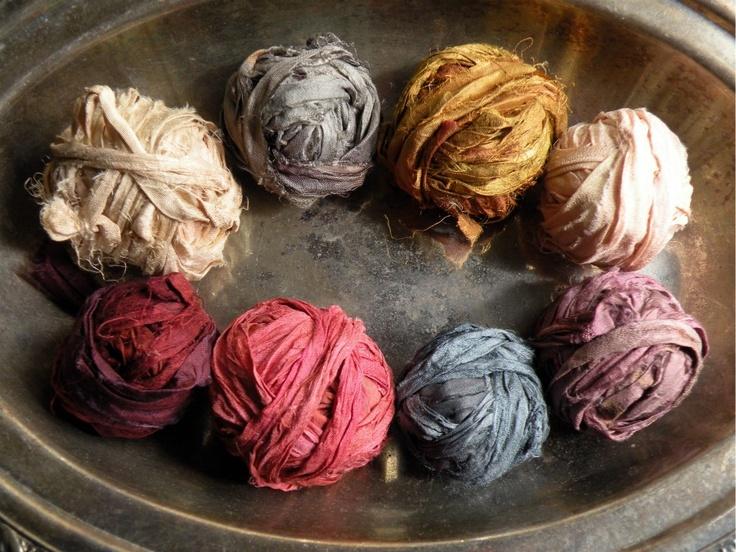 ❥ Rosa & Josie's: sari silks