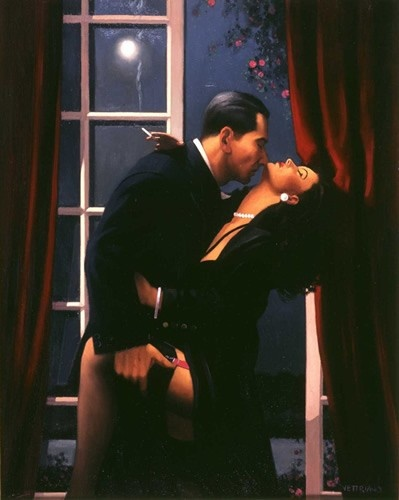 Art Prints Gallery - Night Geometry (Limited Edition), £1,165.00 (http://www.artprintsgallery.co.uk/Jack-Vettriano/Night-Geometry-Limited-Edition.html)