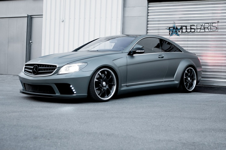 Mercedes-Benz CL by #Famous Parts with 610PS #mbhess #mbcars #mbtuning