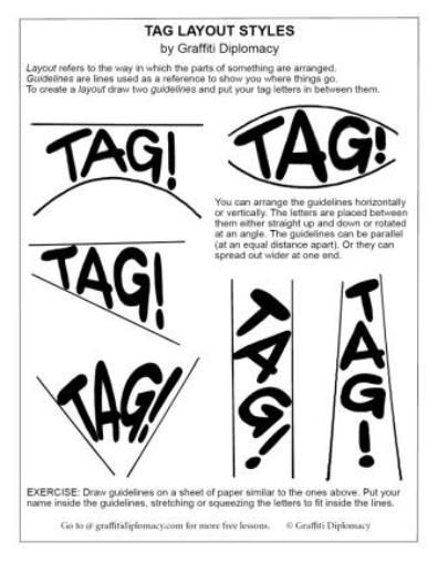 Free Graffiti Tag Drawing Lesson #5 - Graffiti Tag Tutorial