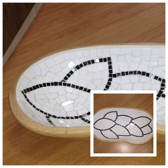 Gamela em mosaico