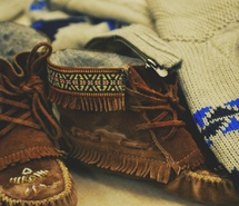 Indian moccasins, love these