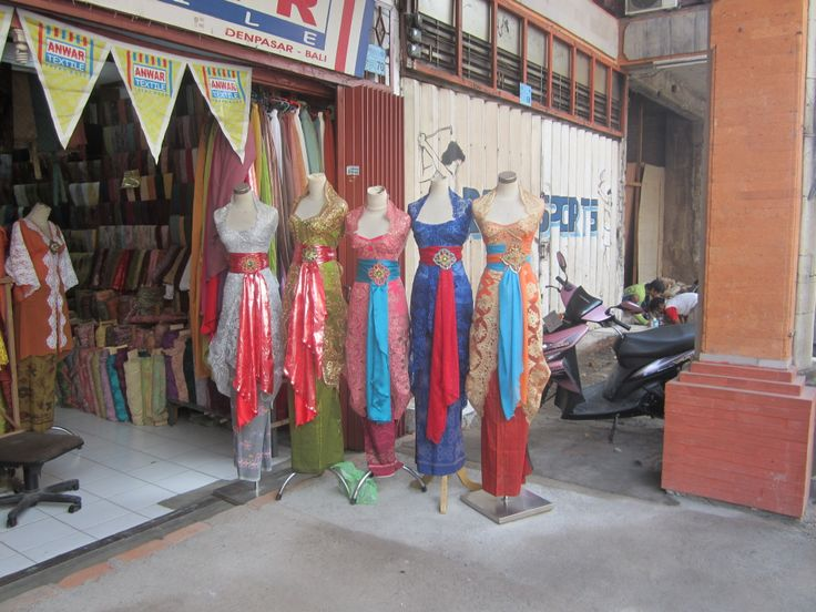 Dress shop in Denpasar, not really a touristy place, but we had driver take us to some  of the markets etc