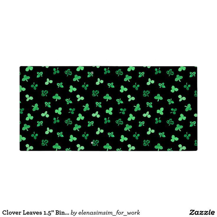 Clover Leaves 1.5'' Binder