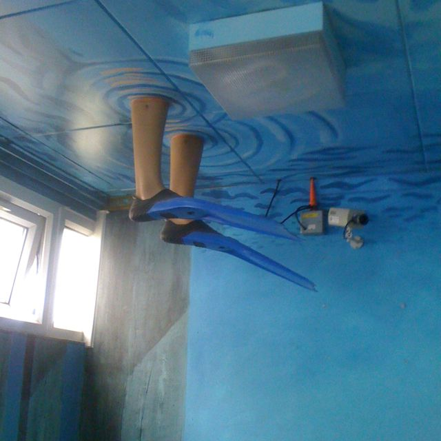 Ceiling idea (underwater)