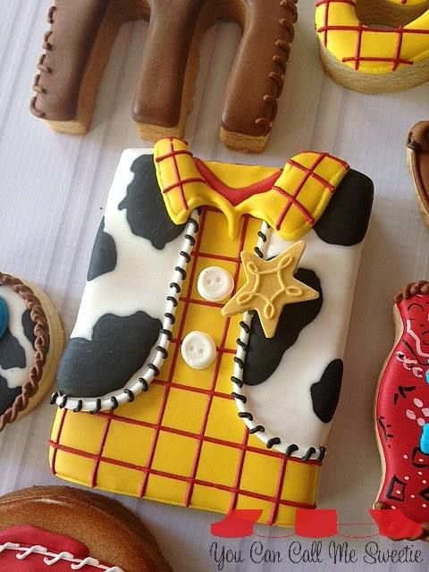 Sheriff Woody Cookie