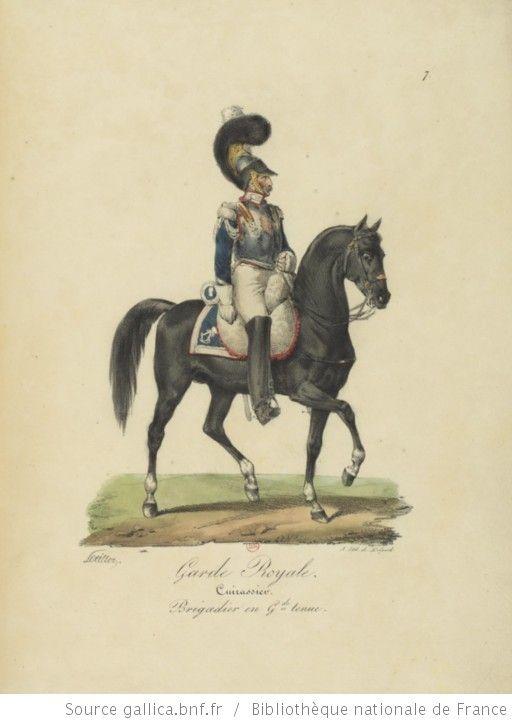[Maison du Roi et garde royale de Louis XVIII, 1817.] / Ch. Aubry - 12
