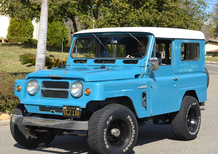 1967 Nissan Patrol Maintenance/restoration of old/vintage vehicles: the material for new cogs/casters/gears/pads could be cast polyamide which I (Cast polyamide) can produce. My contact: tatjana.alic14@gmail.com
