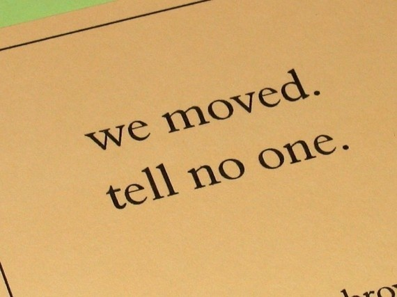 we moved. tell no one #movinghumor
