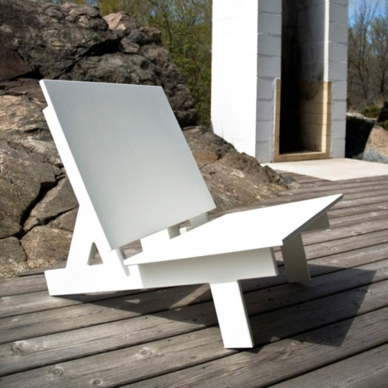 Loll Designs Salmela Taavi Low Lounge - Outdoor Lounge Chairs - Outdoor - Furniture