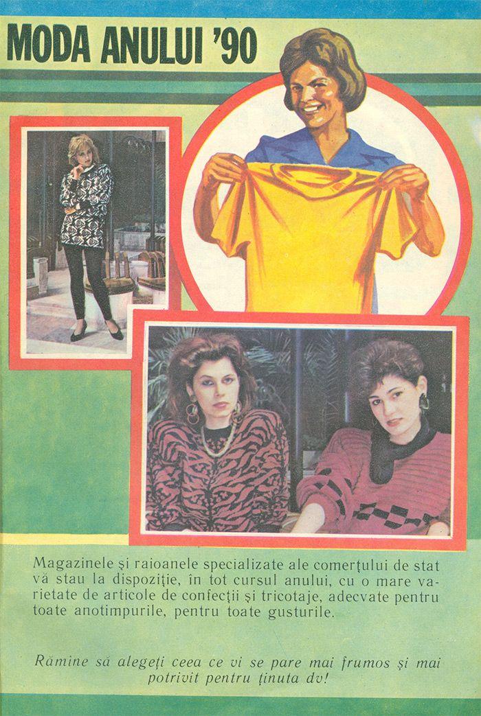 Retro Fashion Romania - 1990