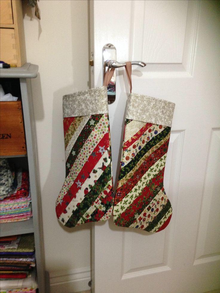Two stockings for two grandchildren!!