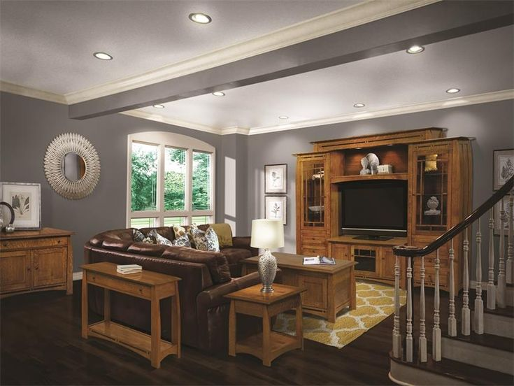 Amish Boulder Creek 63 TV Stand With Three Doors