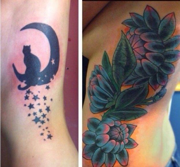 25 Stunning #Tattoo Cover-Ups http://kwip.xyz/25-stunning-tattoo-cover-ups/