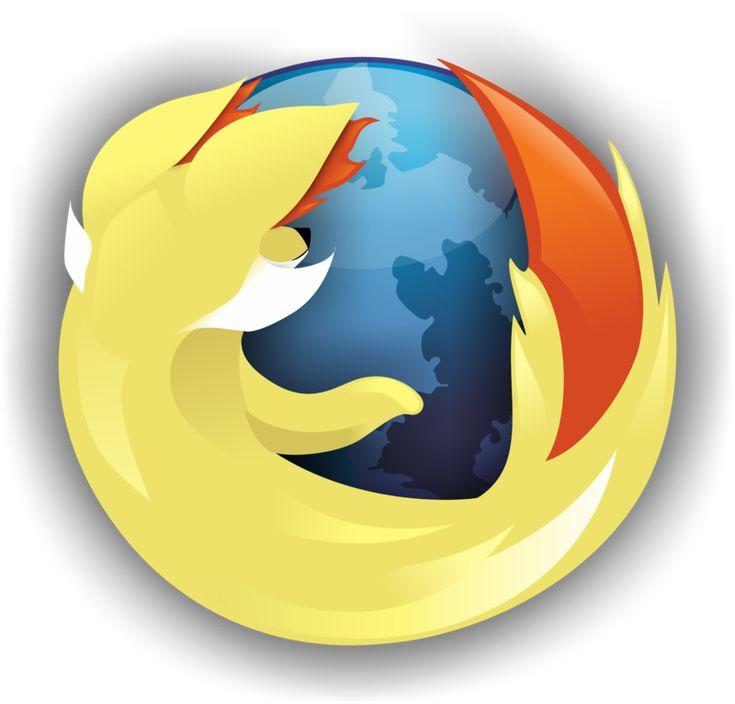 fennekin firefox logo with icon by svortex on