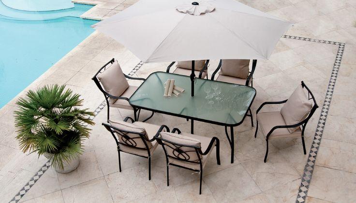 Trabajar tu bronceado en esta terraza será maravilloso. #airelibre #terrazas #balcones #easytienda #tiendaeasy #Terrazas2016 #Easy