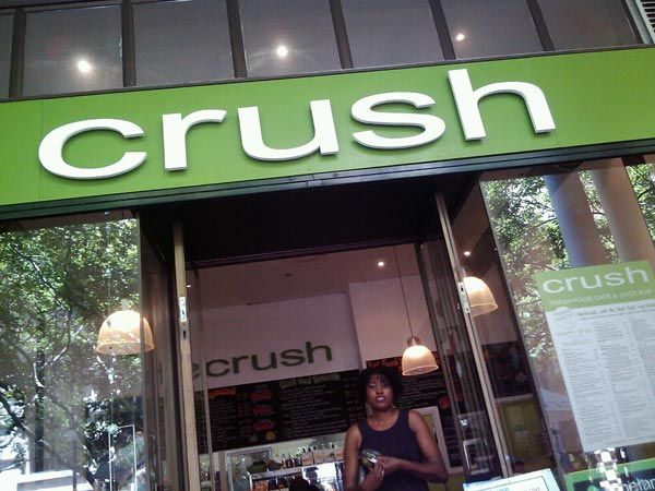Crush in Cape Town: Vegan and raw friendly