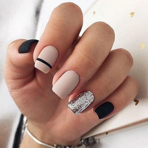 Elegante Nail Art Designs für Frauen; Eleganter Nagel; Elegantes Nail Art Design; Nagel – Katso