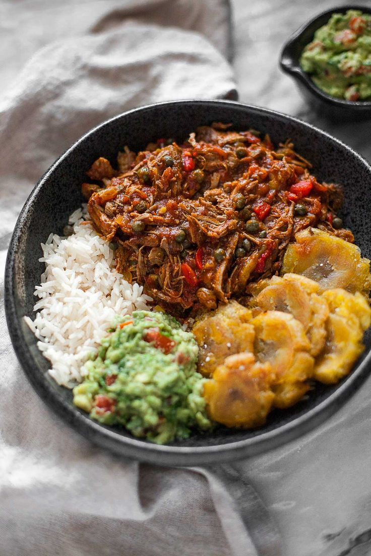 Pressure cooker ropa vieja is a time-saving version of the traditional Cuban beef dish, and is naturally gluten and dairy free. Works in a slow cooker, too!