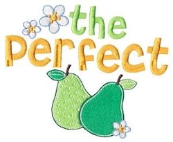 """The Perfect """"Pear"""" Filled Design - 2 Sizes! 