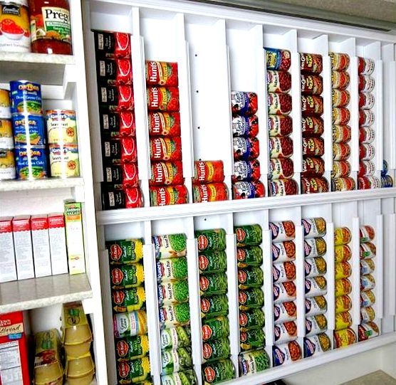 can organization ideas for the pantry