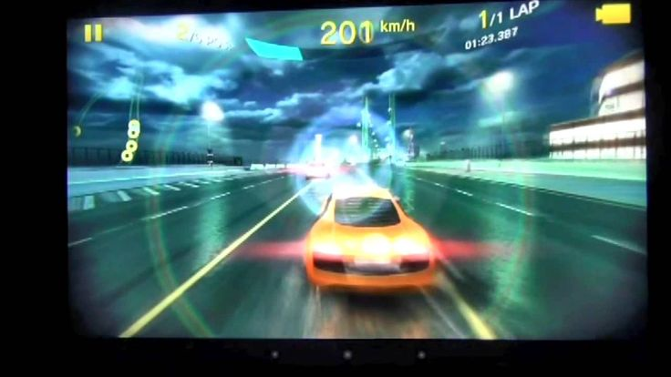 Playing Asphalt 8 with ZOTAC Tegra Note 7 (+playlist)