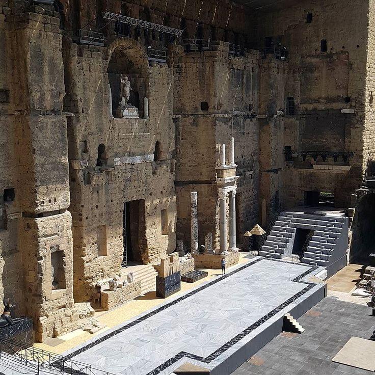 #Roman #Theatre #Orange #Antique #Ancient #historic #imposant @famigliadilella