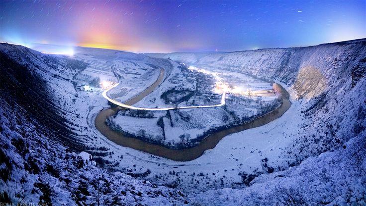 Молдова, звёзды, пейзаж, Moldova, Orhei