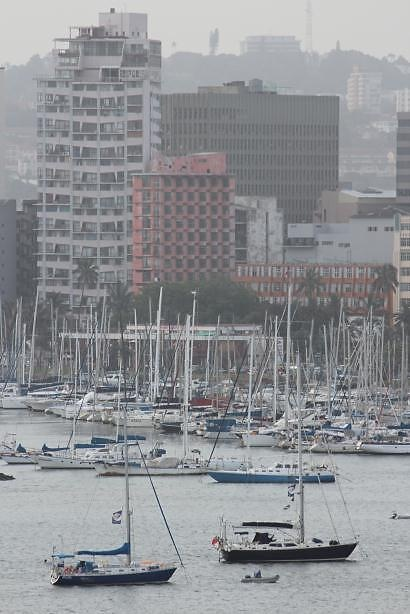 Durban's yacht mole is a great place to enjoy the typical laid back Durban vibe - drinks at Wilson's Wharf is a great 'watering hole'.