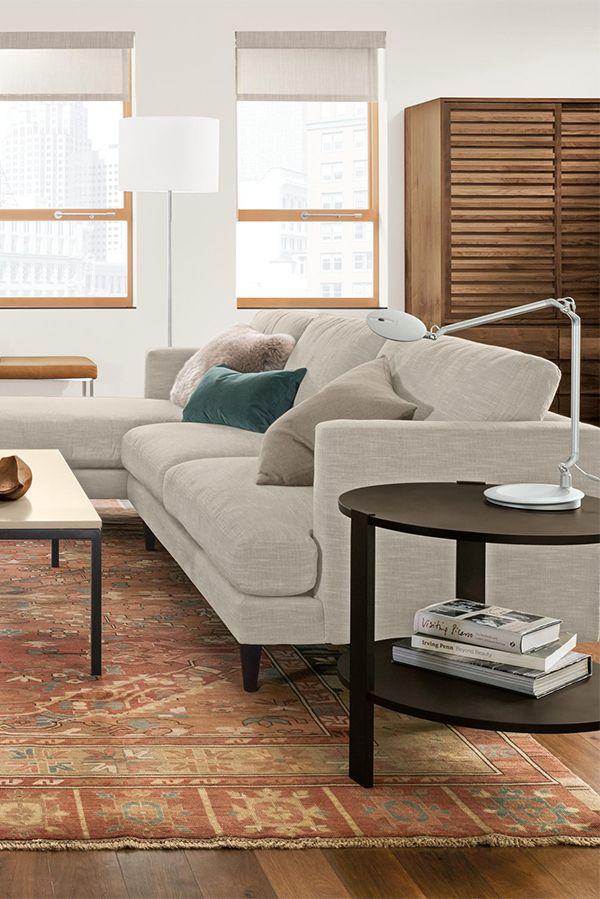 Campbell Sofas Modern Sofas Loveseats Modern Living Room