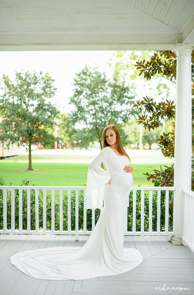 161 best maternity gowns images on pinterest maternity gowns thea maternity gown fitted with bell sleeves ivory silk fairies ombrellifo Images
