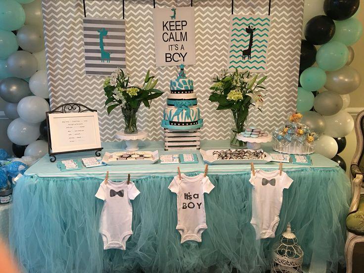 Uptown giraffe themed baby shower decorations bem 39 s cakes and beyond baby shower decorations - Decoration baby shower fait maison ...