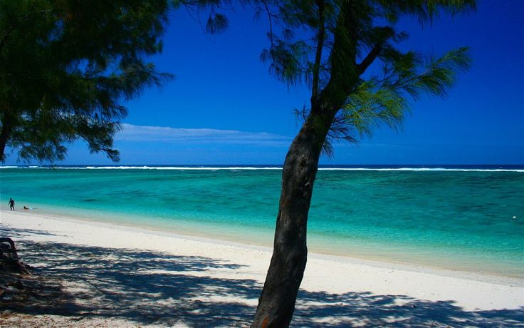 Hermitage beach - Reunion Island