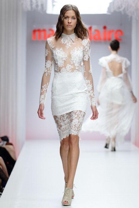 The Ametist dress / Nora Sarman Bridal / Marie Claire Fashion Days