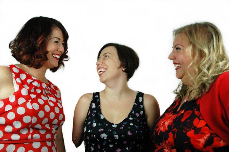 L-R: Jayne, Elizabeth, Frederika