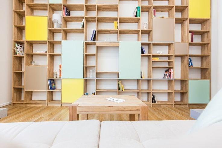 17 meilleures id es propos de biblioth que murale sur pinterest biblioth - Bibliotheque murale ikea ...