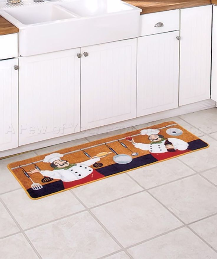 KITCHEN LONG RUG BON APPETIT BISTRO CHUBBY FAT CHEF HOME ITALIAN WINE DECOR  #Unbranded #Tuscan