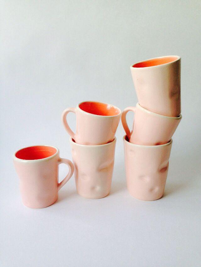 Pink mugs instagram: paper.smile