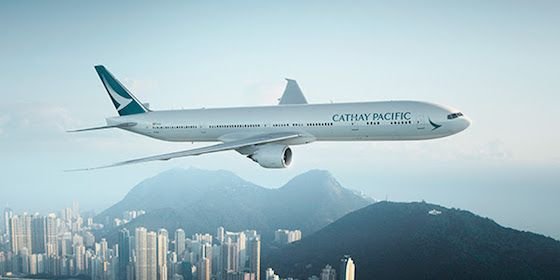 Cathay Pacific is increasign capacity from Sydney with a 3rd daily  777-300ER
