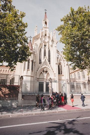 iglesia del colegio Nuestra Señora del Pilar. Madrid