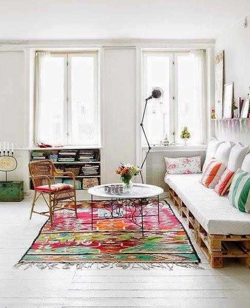 My Leitmotiv - Blog de interiorismo y decoración: Un mueble de palets en tu vida