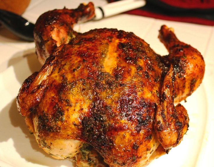 ROAST CHICKEN IN MARINADE