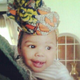 Baby gone tribal