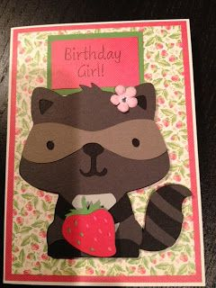 Birthday Card For 6 Year Old Girl